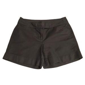 Ann Taylor Signature Fit Black Shorts Size 0